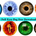 New Colour Full Eyes Png Free Download In Zip File