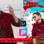 Lover Boy Concept  Valentine's Day Special HD Photo Editing Tutorial in Picsart- 2020