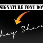 TOP 10 Signature font download [ FREE DOWNLOAD ]