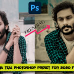 Download Aqua Teal Camera Raw Preset for 2020 Free Download