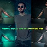 Download Dreamy Night Inspired Pastel Blue Effect Preset Free | Calop Inspired Photoshop Pastel Green Preset Free