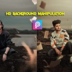 Flying paper Editing 2021 | HD Background Manipulation In Picsart | Picsart Background Change 2021