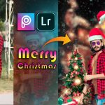 Christmas Editing In Picsart | Merry Christmas Editing Tutorial | Picsart Christmas Special Editing 2021