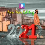 Happy New Year 2021 Editing In Picsart | New Year Photo Editing | New Viral Editing For New Year