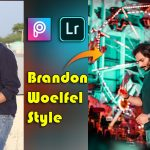 Brandon Woelfel Style Photo Editing in Picsart 2021 | New Instagram Viral Editing 2021